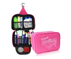 Waterproof Travel Storage Bag Toiletry Wash Makeup Case Cosmetic Hanging Organizer Bag