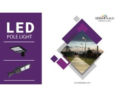 Now Best LED Pole Lights Buy on Discounted Offer