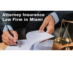 Attorney Insurance law Firm