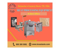 Buy Best Meat Processing Equipment | Texastastes.com