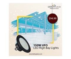 Utilize Money more Effectively by Installing LED High Bay UFO Lights