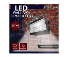 Install LED Semi Cut-Off wall Packs to Illuminate The Exterior Areas