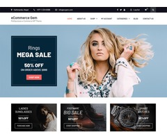 eCommerce Gem - Best Free eCommerce WordPress Theme