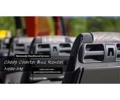 Cheap Charter Bus Rental Near Me