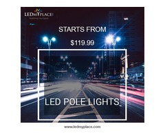 Buy Now Energy Efficient LED Pole Lights On Sale
