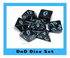 Buy DnD Dice Set and Get Free Shipping Over 30$ on Bluewizardgaming.com