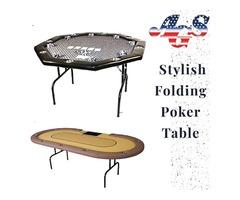 Purchase Amazing Folding Poker Tables Online