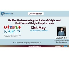 NAFTA: Understanding the Rules of Origin and Certificate of Origin Requirements