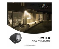Use 80w LED Wall Pack Lights for Graceful Outdoor Ambience