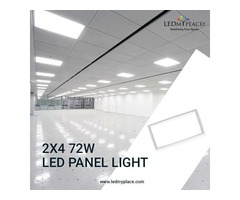 Install LED Panel Light 2x4 To Enlighten Up Your Office