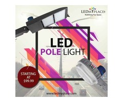 For Sale Outdoor LED Pole Lights, Limited Stock Grab Now