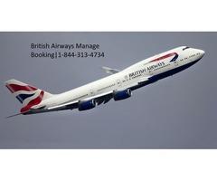 British Airways Manage Booking