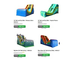 Buy Long Inflatable Water Slides | Happy Jump