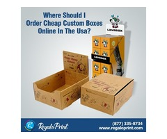 Where Can I Get Custom Packaging Boxes At Cheap Rates?