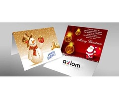 Professional Greeting Card Printing | Axiom Designs & Printing