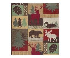 Square Animal Print Rugs | ShoppyPal
