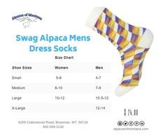 Buy Swag Alpaca Mens Dress Socks - Alpacas of Montana