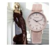 Gogoey Brand Women's Watches Fashion Leather Wrist Watch