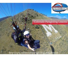 Lessons for Paragliding in Colorado !