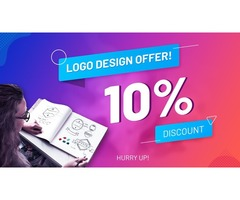 Get Up to 10% off on Logo Design with world's best designers!