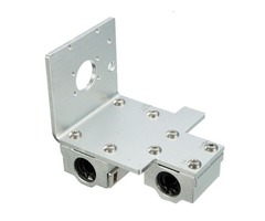 X-Axis Long / Short Distance Print Head Aluminum Mounting Base For 3D Printer