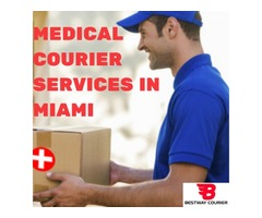Medical Courier Services in Miami - Best Way Courier
