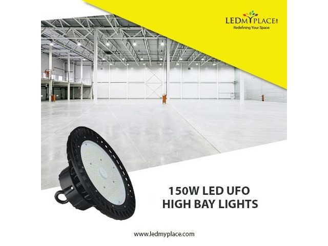 Use Cost Efficient 150W LED UFO High Bay Lights For Indoor Lighting Purposes | free-classifieds-usa.com