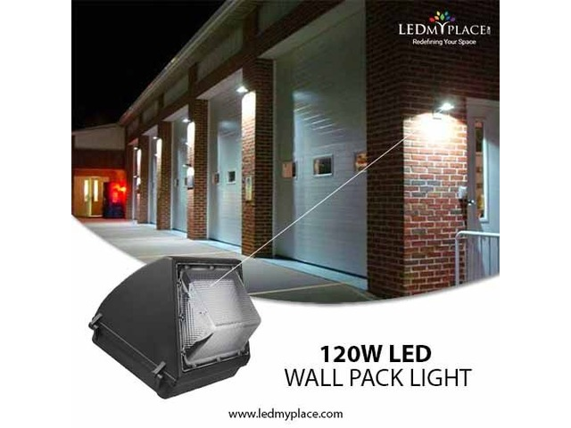 Use Forward Throw 120w Led Wall Pack Lights For Quicker Installation Electronics Muskegon Michigan Announcement 168005