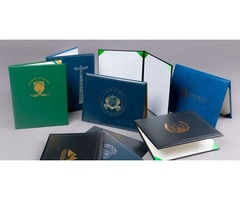 New Wholesale Certificate Covers, College Diploma Covers, Diploma Covers