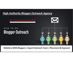 High Authority Blogger Outreach Company