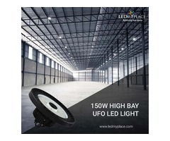 150w LED UFO High Bay Lights are Best for Warehouse