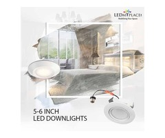 Install Now the Best 5/6'' Dimmable LED Downlights for Better Energy Savings