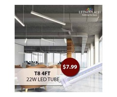 T8 4ft 22W LED Tube - A Perfect Retrofit For Fluorescent Tubes!