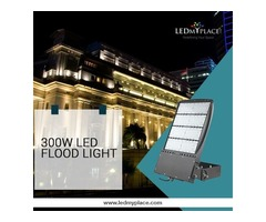 Use LED Flood Light 300W Inside Warehouse to Ensure Smooth Running of The Business