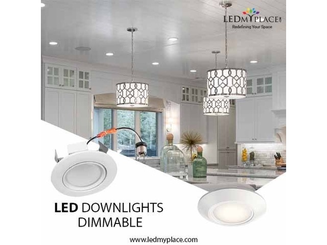Use LED Downlights Dimmable for Graceful Indoor Ambience | free-classifieds-usa.com