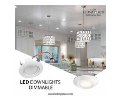 Use LED Downlights Dimmable for Graceful Indoor Ambience
