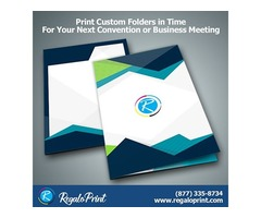 Print Custom Folders in Time for Your Next Convention or Business Meeting