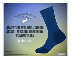 Adventure Walking / Hiking Socks - Wicking, Breathing, Comfortable