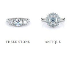 Halo White Gold Engagement Rings at an Affordable Price