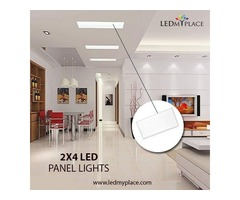 Install 2x4 50W LED Panel Light To Boost Your Productivity