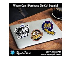 Where can I purchase Die Cut Decals?