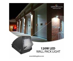 Make Use of 120W LED Wall Pack Lights to Enhance Your Outdoor Security