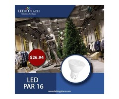 Switch To Greener Lighting Products, Install LED PAR16 Bulbs