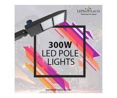 300w LED Pole Lights -- The Ultimate For Safety & Security