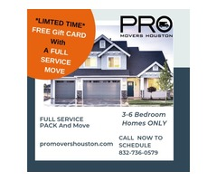 Moving? Get A FREE GIFT CARD!!