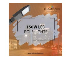 Use LED Pole Light And Enjoy 5-year Warranty From Manufacturer's End