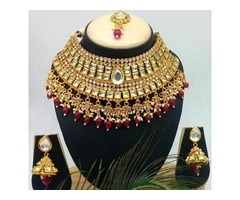 Get lowest price on Bridal necklace, wedding jewelery