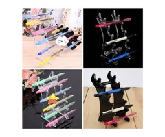 Detachable Nail Art Makeup Brush Pencil Display Holder Stand Organizer