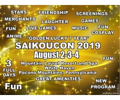 ANOTHER NEW ATTRACTION AT SAIKOUCON 2019 | free-classifieds-usa.com