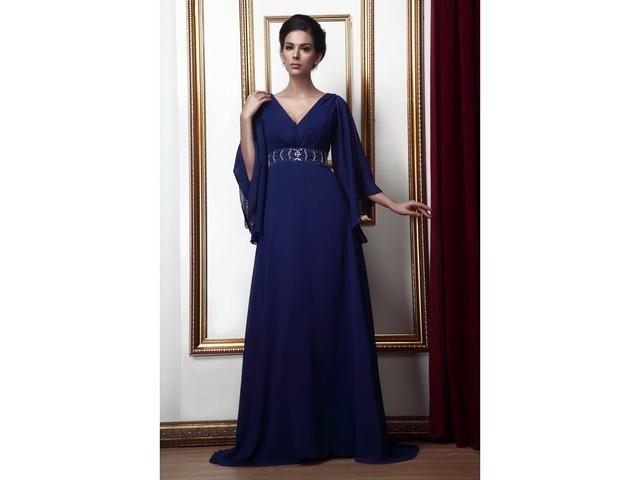 Beaded Waist Plus Size Mother of the Bride Dress | free-classifieds-usa.com